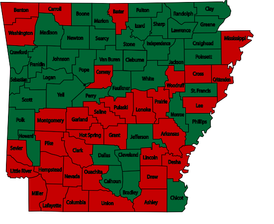 Arkansas Burn Bans